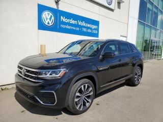 New 2021 Volkswagen Atlas Cross Sport Execline for sale in Edmonton, AB