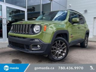 Used 2016 Jeep Renegade 75TH - AWD, CLOTH, HEATED SEATS, STEERING, REMOTE START for sale in Edmonton, AB