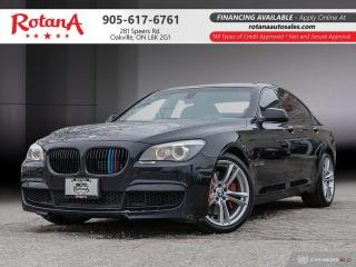 Used 2012 BMW 7 Series Navi_Rear Camera_Heads up Display_Bluetooth for sale in Oakville, ON