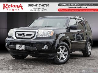 Used 2010 Honda Pilot Touring_Navigation_DVD_Rear Cam_Bluetooth for sale in Oakville, ON