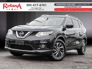 Used 2016 Nissan Rogue Navi_Rear Cam_Leather_Sunroof for sale in Oakville, ON
