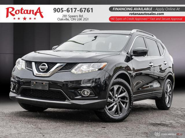 2016 Nissan Rogue Navi_Rear Cam_Leather_Sunroof