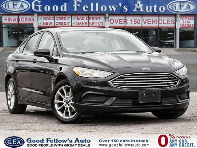 2017 Ford Fusion SE MODEL, BACKUP CAMERA, 2L TURBO 4CYL, BLUETOOTH