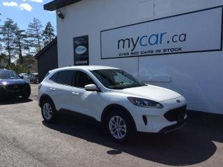 Used 2020 Ford Escape HEATED SEATS, ALLOYS, BACKUP CAM, MYCAR POWERBUY!! for sale in Richmond, ON