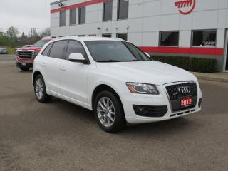 Used 2012 Audi Q5 2.0L Premium Plus with Heater front & rear seats for sale in Tillsonburg, ON