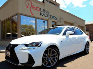 Used 2018 Lexus IS 300 F-Sport.Navi.Camera.RedLeather.LaneAssist.Radar.BS for sale in Kitchener, ON