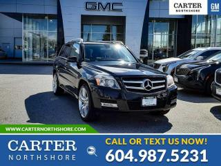 Used 2011 Mercedes-Benz GLK-Class MOONROOF - GENUINE WOOD - HEATED PWR FRONT SEATS for sale in North Vancouver, BC