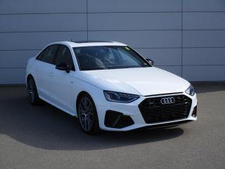 New 2021 Audi A4 45 Progressiv S Line Black, NAV, CARPLAY for sale in Regina, SK
