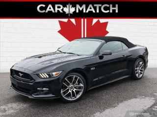 Used 2015 Ford Mustang GT PREMIUM / NO ACCIDENTS / ONLY 85860 KM for sale in Cambridge, ON