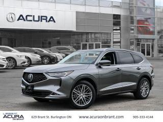 New 2022 Acura MDX Platinum Elite for sale in Burlington, ON
