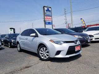 Used 2014 Toyota Corolla No accidents| Automatic | LE | Certified for sale in Brampton, ON