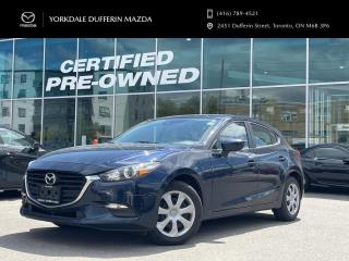 Used 2018 Mazda MAZDA3 GX at ONE OWNER / LOW KMS! for sale in York, ON