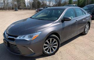 Used 2015 Toyota Camry XLE V6 Navigation Camera Blind Spot Fully Loaded for sale in Kitchener, ON