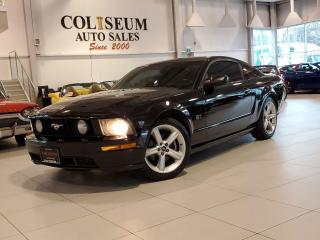 Used 2007 Ford Mustang GT-PREMIUM-LEATHER-AUTOMATIC-CERTIFIED-NO ACCIDENT for sale in Toronto, ON