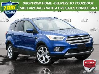 Used 2019 Ford Escape Titanium for sale in Oakville, ON