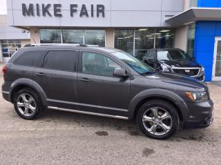 Used 2016 Dodge Journey Crossroad Tilt & Telescopic Steering Wheel, USB Connection, Keyless Ignition, for sale in Smiths Falls, ON