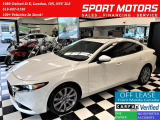 Used 2019 Mazda MAZDA3 GT AWD+Roof+ApplePlay+HUD+BlindSpot+CLEAN CARFAX for sale in London, ON