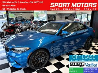 Used 2019 BMW M2 Competition 6 Speed+M Seats+7000 KMs+CLEAN CARFAX for sale in London, ON