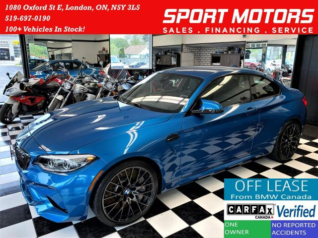 2019 BMW M2 Competition 6 Speed+M Seats+7000 KMs+CLEAN CARFAX