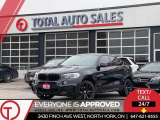 Used 2015 BMW X6 //M SPORT | RED LEATHER | NAVI | XENON for sale in North York, ON