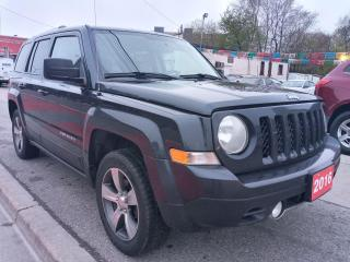 Used 2016 Jeep Patriot High Altitude-NAVI-SUNROOF-BLUETOOTH-AUX-ALLOYS for sale in Scarborough, ON