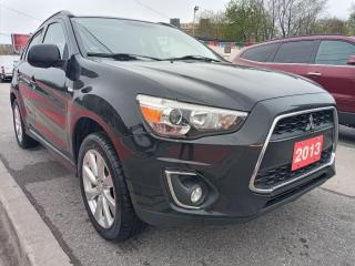 Used 2013 Mitsubishi RVR GT-AWD-NAVI-PANORAMA ROOF-BLUETOOTH-USB-AUX-ALLOYS for sale in Scarborough, ON