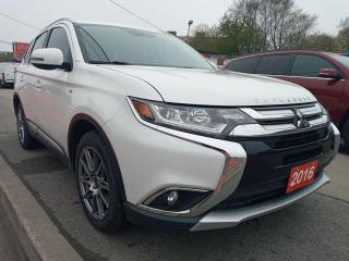 Used 2016 Mitsubishi Outlander GT-4WD-7 SEATS-156K-NAVI-BK UP CAM-BLUETOOTH-ALLOY for sale in Scarborough, ON