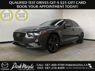 Used 2019 Genesis G70 3.3T Sport for sale in Sherwood Park, AB