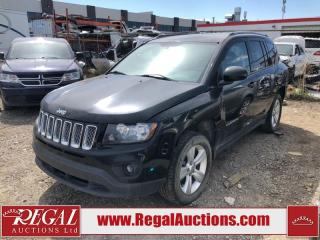 Used 2015 Jeep Compass North 4D Utility 4WD 2.4L for sale in Calgary, AB