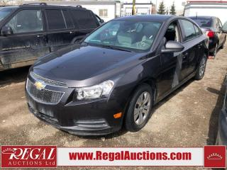 Used 2014 Chevrolet Cruze (145-ANNEX) for sale in Calgary, AB