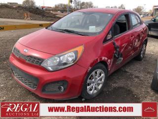 Used 2013 Kia Rio (15-S) for sale in Calgary, AB