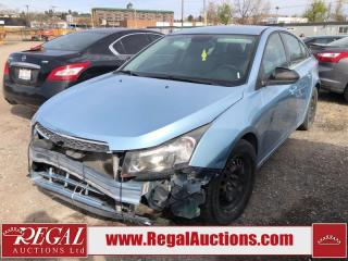 Used 2012 Chevrolet Cruze (22-R) for sale in Calgary, AB