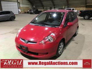 Used 2007 Honda Fit LX 4D Hatchback for sale in Calgary, AB