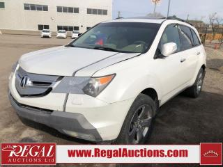 Used 2008 Acura MDX (6-E) for sale in Calgary, AB