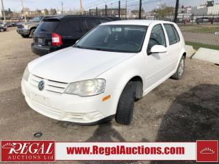 Used 2009 Volkswagen City Golf (62-NF) for sale in Calgary, AB