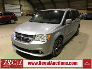 Used 2017 Dodge Grand Caravan SXT 4D Wagon for sale in Calgary, AB