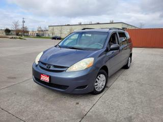 Used 2006 Toyota Sienna Low km, No rust, 7 Pass, Auto, 3/ warranty availab for sale in Toronto, ON