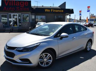 Used 2017 Chevrolet Cruze LT Auto CRUISE CONTROL! A/C! BACK UP CAMERA! SUPER LOW KM! for sale in Saskatoon, SK