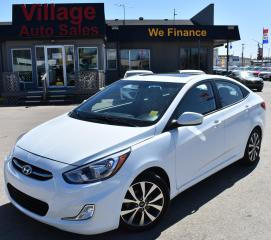 Used 2017 Hyundai Accent SUNROOF! CRUISE CONTROL! BLUETOOTH! for sale in Saskatoon, SK