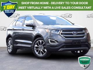 Used 2017 Ford Edge Titanium TITANIUM | AWD | ECOBOOST 2.0L | BLIS BLIND SPOT INFORMATION SYSTEM | FRONT DUAL A/C | VOICE ACTIVAT for sale in Waterloo, ON