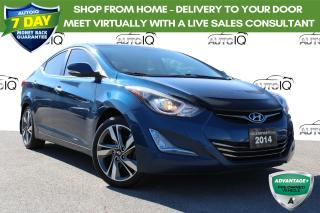 Used 2014 Hyundai Elantra Limited Navigation Leather Sunroof for sale in Hamilton, ON
