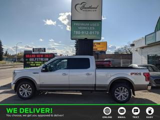 Used 2017 Ford F-150 Lariat PANORAMIC SUNROOF | BACK UP CAMERA | POWER SEAT | REMOTE START-USED EDMONTON FORD DEALER for sale in Edmonton, AB