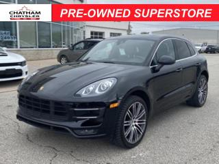 Used 2015 Porsche Macan Turbo for sale in Chatham, ON