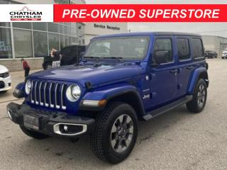 Used 2019 Jeep Wrangler Unlimited Sahara for sale in Chatham, ON