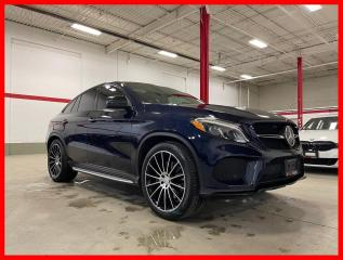 Used 2019 Mercedes-Benz GLE GLE43 AMG COUPE NIGHT PREMIUM DISTRONIC CLEAN CARFAX! for sale in Vaughan, ON
