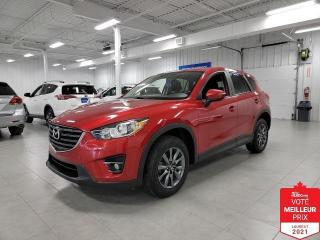 Used 2016 Mazda CX-5 GS - TOIT + CAMERA + JAMAIS ACCIDENTE !!! for sale in Saint-Eustache, QC