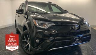 Used 2017 Toyota RAV4 AWD SE *NAVIGATION - SUNROOF - HEATED LEATHER* for sale in Winnipeg, MB