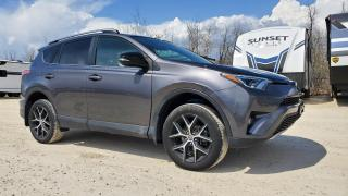 Used 2018 Toyota RAV4 AWD SE *NAVIGATION - SUNROOF - HEATED LEATHER* for sale in Winnipeg, MB