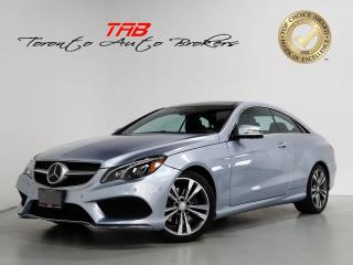 Used 2015 Mercedes-Benz E-Class E400 AMG COUPE I NAV I CLEAN CARFAX for sale in Vaughan, ON