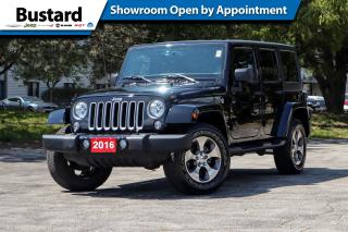 Used 2016 Jeep Wrangler Unlimited 4WD 4dr Sahara | Navi | Manual | Low Kms for sale in Waterloo, ON